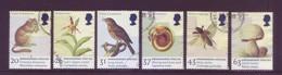 Gran Bretagna 1998 - Fauna E Flora, Specie In Estinzione, 6v Con Annullo Leggero E Rotondo - Used Stamps