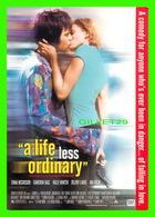 """AFFICHES DE CINÉMA - """" A LIFE LESS ORDINARY """" DE DANNY BOYLE EN 1997 - - Affiches Sur Carte"""