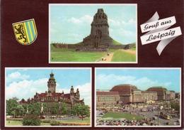 GRUSS AUS LEIPZIG- VIAGGIATA 1960  -F.G - Leipzig