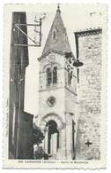 CPA LAMASTRE ARDECHE / EGLISE DE MACHEVILLE / POUR SAUXILLANGES 1934 - Lamastre
