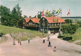SWEDEN-GAMLA UPPSALA-ODINSBORG- VIAGGIATA 1965  -F.G - Svezia