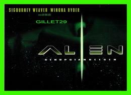 """AFFICHES DE CINÉMA - """" ALIEN  """"  SIGOURNEY WEAVER, WINOVA RYDER - GO-CARD 1997 No 2900 - - Affiches Sur Carte"""