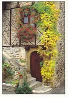 Maison Du Pays Escaliers Fleuri (2 Scans) - Bâtiments & Architecture