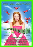 "AFFICHES DE CINÉMA - "" BUT I'M A CHEERLEADER ""  BY JAMIE BABIT IN 1999 - NATASHA LYONNE, CLEA DUVALL - - Affiches Sur Carte"