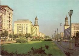 BERLIN-STALINALLEE- VIAGGIATA 1960  -F.G - Germania