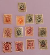 BELGIQUE PETIT LOT ANNEES 1929/1932 TOUT ETAT - Belgium
