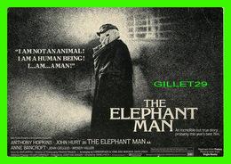 """AFFICHES DE CINÉMA - """" THE ELEPHANT MAN """"  DE DAVID LYNCH IN 1980 - ANTHONY HOPKINS, JOHN HURT - HUMOUR À LA CARTE - - Affiches Sur Carte"""