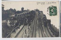 LUNA PARK: Scenic Railway - La Gare - ND 59 (manège) - Spectacle