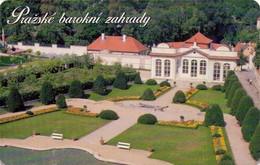 REPUBLICA CHECA. Prague Baroque Gardens-Černinska Zahrada. C310, 14/04.00. (060) - República Checa