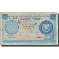 Billet, Chypre, 5 Pounds, 1976, 1976-08-01, KM:44b, TB - Cyprus