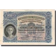 Billet, Suisse, 100 Franken, 1934, 1934-07-19, KM:35h, TTB - Switzerland