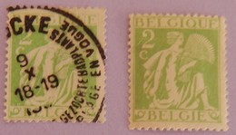 """BELGIQUE 2 X YT 335 NEUF* ET BEAU CAD  """" AGRICULTURE"""" ANNEE 1932 - Belgium"""