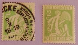 "BELGIQUE 2 X YT 335 NEUF* ET BEAU CAD  "" AGRICULTURE"" ANNEE 1932 - Sin Clasificación"
