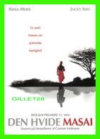 """AFFICHES DE CINÉMA - """" LE MASAI BLANC """" DE CORINNE HOFMANN - NINA HOSS, JACKY IDO - GO-CARD 2006 No 8666 - - Affiches Sur Carte"""
