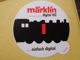 AUTOCOLLANT TRAIN - MARKLIN DIGITAL HO ..... EINFACH DIGITAL - Pegatinas