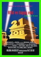 """AFFICHES DE CINÉMA - """" ALTID EN HAPPY END """"  21 ARHUNDREDES JOB - GO-CARD 1997 No 2606 - - Affiches Sur Carte"""