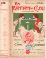 CAF CONC HUMOUR MAYOL PARTITION EN PLANTANT UN CLOU PAN PAN CAMI GASTON GABAROCHE 1910 ILL SERGE DE SOLOMKO - Muziek & Instrumenten