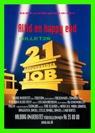 """AFFICHES DE CINÉMA - """" ALTID EN HAPPY END """"  21 ARHUNDREDES JOB - GO-CARD 1997 No 2584 - - Affiches Sur Carte"""
