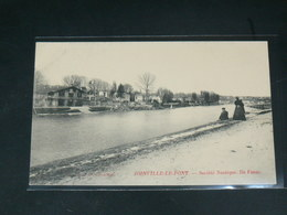 JOINVILLE LE PONT   / 1910 /   VUE  QUAI &  ILE FANAC ... LA MARNE  ....   / CIRC /  EDITION - Joinville Le Pont