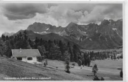 AK 0266  Karwendel Mit Landhaus Exl. V. Ludendorff Um 1930-40 - Tutzing
