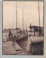 BARCELONA BARCELONE 1930 ESPAGNE Photo Amateur Format Environ 7,5 Cm X 5,5 Cm - Lugares