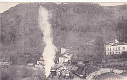 CPA (81) VABRE La Vue Du Pont Et La Gare(Légende En Occitan) Train Locomotive  (2 Scans) - Vabre