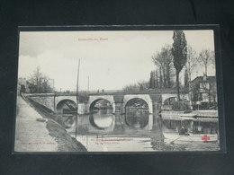 JOINVILLE LE PONT   / 1910 /   VUE  QUAI &   PONT ....   / CIRC /  EDITION - Joinville Le Pont