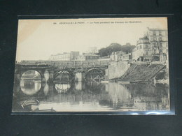 JOINVILLE LE PONT   / 1910 /   VUE  QUAI &   PONT EN TRAVAUX  ....   / CIRC /  EDITION - Joinville Le Pont