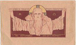 CELLULOÏD MINCE : IMAGE PIEUSE RELIGIEUSE HOLY CARD SANTINI HEILIG PRENTJE - Andachtsbilder