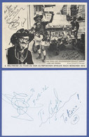 Elzear Duquette, Autogrammkarte Des Welt-Spaziergängers Aus Dem Jahr 1972 - Postcards