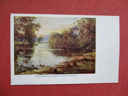 Australian River Scenery Hath It Charms    Ref 3427 - Other