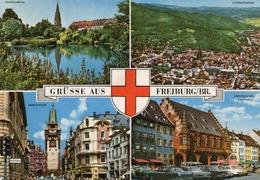 GRUSSE AUS FREIBURG-VIAGGIATA  -F.G - Freiburg I. Br.