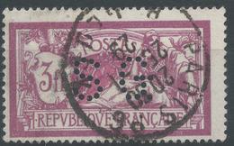 Lot N°49773  MERSON, N°206, Perforé S G, Oblit Cachet à Date - Perforés