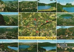 GRUSSE AUS DER VULKANISCHEN-SUDEIFEL-VIAGGIATA  -F.G - Bitburg