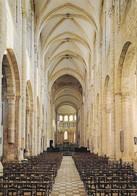 45 Saint Benoit Sur Loire La Basilique La Grande Nef (2 Scans) - Other Municipalities