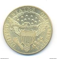 U.S.A. 10 Dollars 1802 COPY - L. Gold