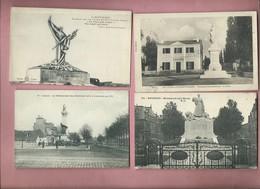 102 Cartes  -  Monument , Monuments -  Monuments Au Morts , Monument Aux Morts - - Monuments