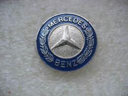 Pin's étoile Des Automobiles Mercedes Benz (Diam 25mm) - Mercedes