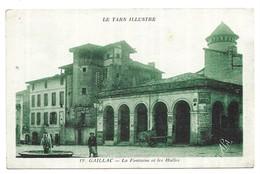 Gaillac La Fontaine Et Les Halles - Gaillac