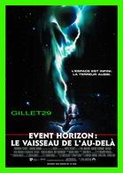 """AFFICHES DE CINÉMA - """" EVENT HORIZON : LE VAISSEAU DE L'AU-DELÀ """" - CART COM 1998 - - Affiches Sur Carte"""