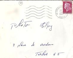 40 - LANDES - 40.GRENADE SUR L'ADOUR - SECAP - 1968 - Poststempel (Briefe)