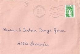 40 - LANDES - 40.LABOUHEYRE - SECAP - 1980 - Poststempel (Briefe)