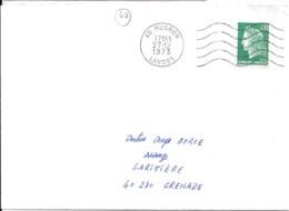 40 - LANDES - 40.MUGRON - SECAP - 1973/81 - Poststempel (Briefe)