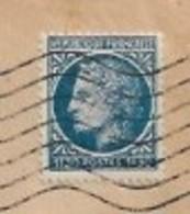 678   CERES  MAZELIN  SEUL  SUR  LETTRE  DU  GROUPEMENT  PARISIEN  DE  LA  HOUILLE  BLANCHE  (  PARIS )  . - Postmark Collection (Covers)
