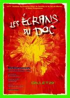"""AFFICHES DE CINÉMA - """" LES ÉCRANS DU DOC """" - SON ET IMAGE DE GENTILLY (94) EN 1996 - - Affiches Sur Carte"""