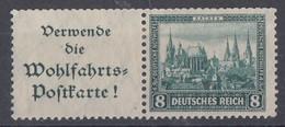 DR Zdr. Minr.W38 Mit Falz - Deutschland