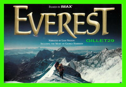 "AFFICHES DE CINÉMA - "" EVEREST "" - FILMED IN IMAX - MARYLAND SCIENCE CENTER - GO-CARD - - Affiches Sur Carte"