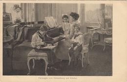 HERZOGIN VON HOHENBERG MIT KINDER …  - Verlag Brüder Kohn, Fotogr.v.H.C.Kosel 1910 - Königshäuser