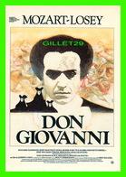 """AFFICHES DE CINÉMA - """" DON GIOVANNI """" - FILM DE JOSEPH LOSEY, 1979 - F. NUGERON - GAUMONT PRÉSENTE - EDIT, RAMSAY - - Affiches Sur Carte"""