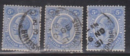 BRITISH HONDURAS Scott # 97 Used X 3 - KGV Definitive - British Honduras (...-1970)